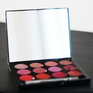 NWT Professional Lipstick Palette (Reds, Nudes)